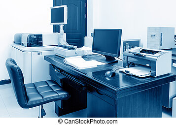 Office - Modern Office, PC, printers and copiers and other...
