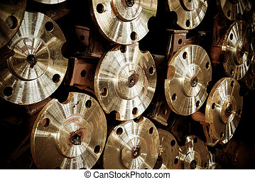 Machine parts - Factory warehouse, has already done a bunch...