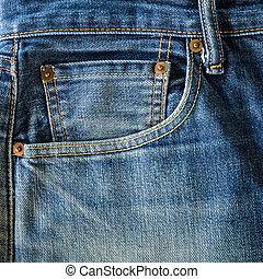 Old Jeans pocket