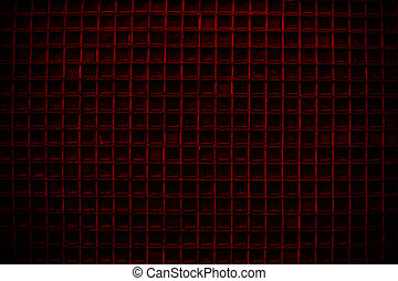 Red Screen door detail pattern background or texture