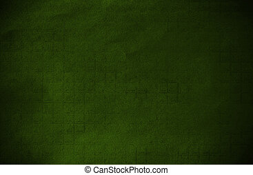 Abstract green grunge technical background paper