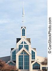 教堂, 現代, 尖頂