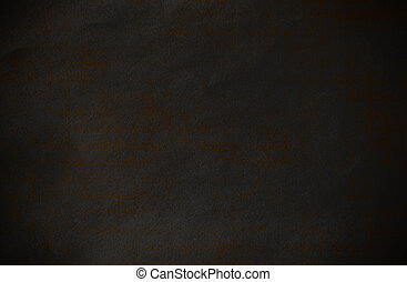 Abstract dark and gold grunge technical background paper