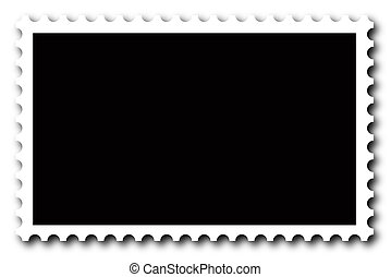 Stamp - A blank stamp Put your image inside black area
