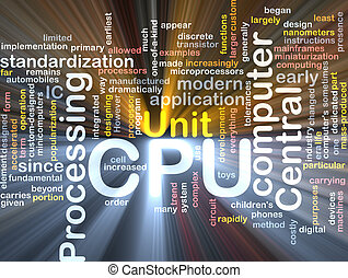 CPU word cloud box package