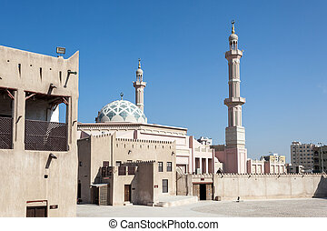 Mosque in the emirate of Ajman, United Arab Emirates
