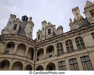 Chambord - View of Chambord Castle