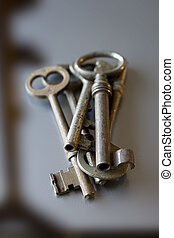 old keys, old hospitable reception