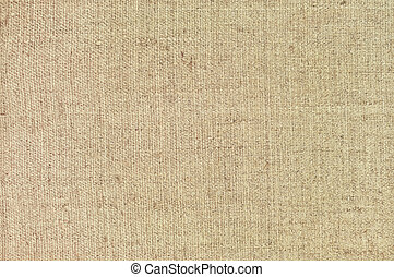 Natural textured horizontal grunge burlap sackcloth hessian...
