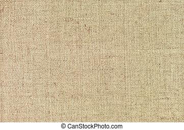 Natural textured horizontal grunge burlap sackcloth hessian...