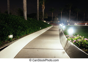 Path at the Church of Jesus Christ of Latter-Day Saints...