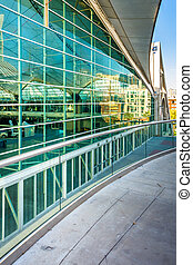 Modern architecture at the Convention Center in San Diego, Calif
