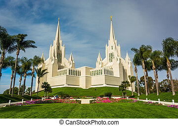 The Church of Jesus Christ of Latter-Day Saints Temple in...