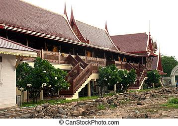 Thai house.