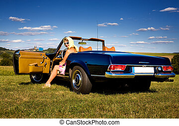 cabrio - Post-War model Mercedes-Benz W113 230SL YOM...