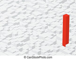 rised one - land of cubes and rised red one