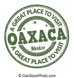 Oaxaca stamp