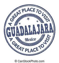Guadalajara stamp