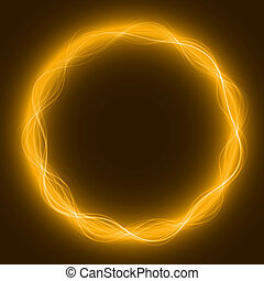 maic loop,energy ring - energy loop ring yellow...