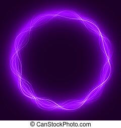 maic loop,energy ring - energy loop ring violet...