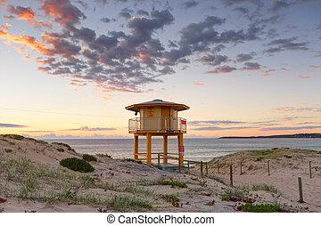 Wanda Beach Lookout Tower - Wanda Beach Lifeguard lookout...