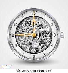 Vector hours of gears