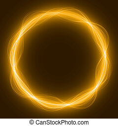 maic loop,energy ring - energy loop ring yellow colored,...