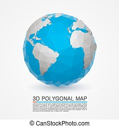 Planet network earth art . Vector illustration