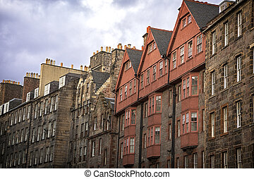 Royal Mile Architecture - The historic architecture of the...