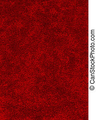 Red on Black Texture - A red paper background with heavy...