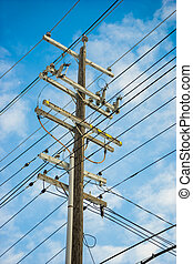 Power pole workload in all direction