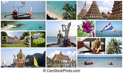 thailand collage