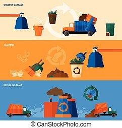 Garbage Banner Set