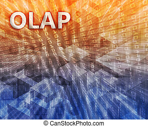 OLAP Business Intelligence illustration - OLAP Business...