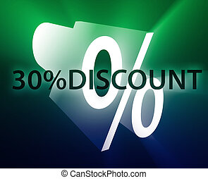 Percent Discount illustration