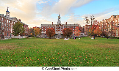 Harvard Moors Hall - CAMBRIDGE, MA, USA - NOVEMBER 2, 2013:...