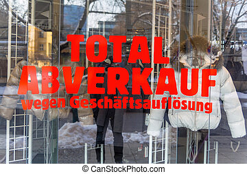 total sales - liquidation - total sales for liquidation....