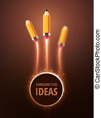 Innovative Ideas - Innovative ideas, concept background, eps...
