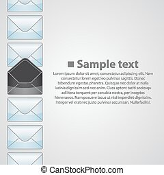 Vertical background writing art banner. Vector illustration