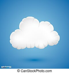 Cloud. Vector