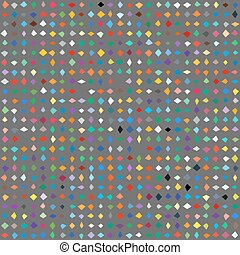 Small ditsy pattern with diamond shapes