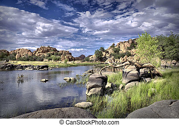 Watson Lake - Beautiful serene lake in the heart of...