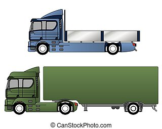 Double cab trucks with various chassis - Double cab trucks...