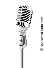 Microphone - Retro Microphone (vector)