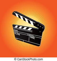 Film Clapboard (vector)