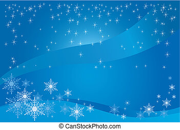 Winter Magic Background