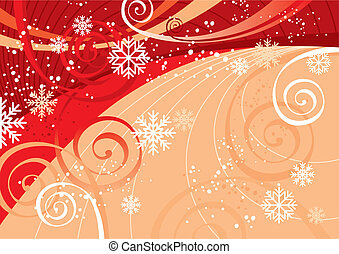 New Year\'s Fun Background (vector)