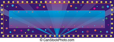 Celebration Banner - A colorful banner for a party or...