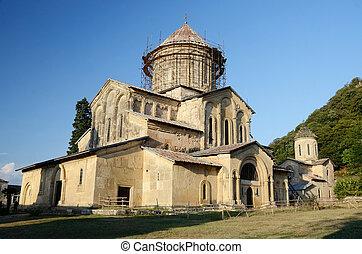 Main church in Gelati Monastery near Kutaisi ,Imereti