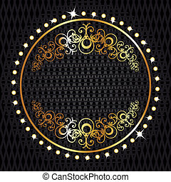 Vector decorative ornamental backgr